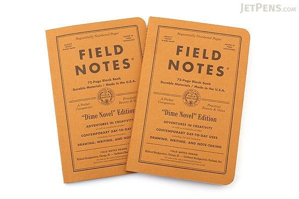 Field Notes Dime Novel Memo Books 425 x 65 72 Pages – Field Note