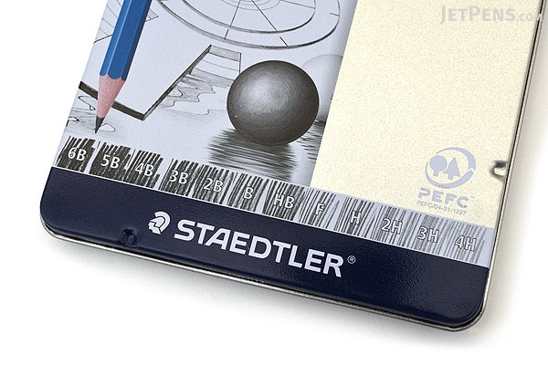 Staedtler Mars Lumograph Graphite Pencil - Medium Grades ...