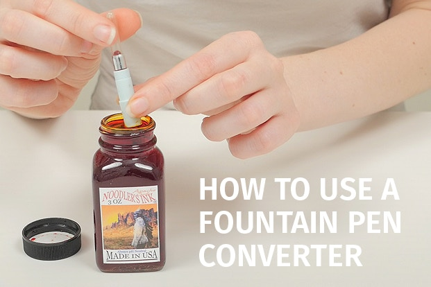 How to Use a Fountain Pen Converter | JetPens