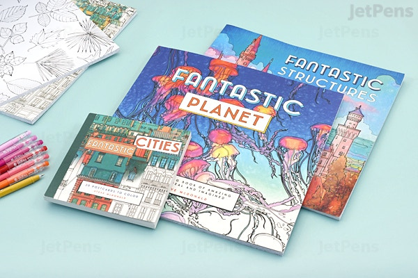Fantastic Planet A Coloring Book Of Amazing Places Real And Imagined