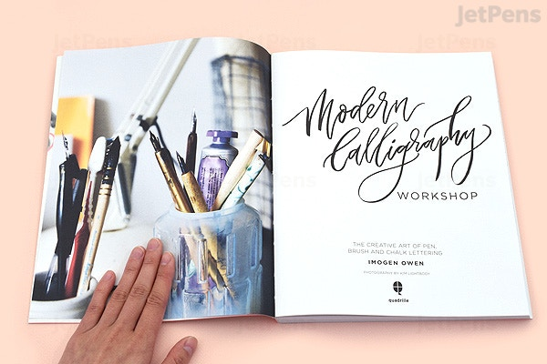 modern calligraphy workshop the creative art of pen brush and