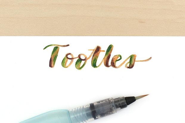 Guide to watercolor brush pens jetpens.com