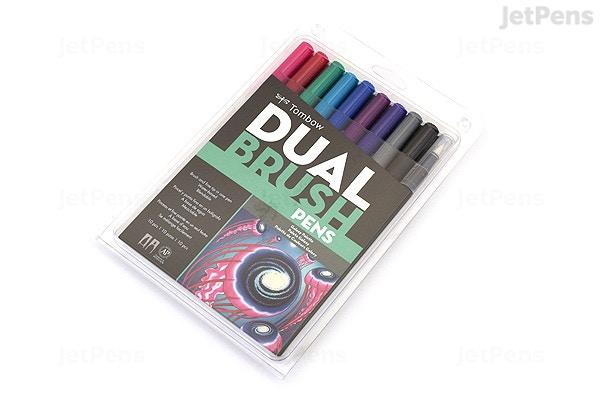 Tombow ABT Dual Brush Pen Pen Set Galaxy JetPenscom - Tombow abt