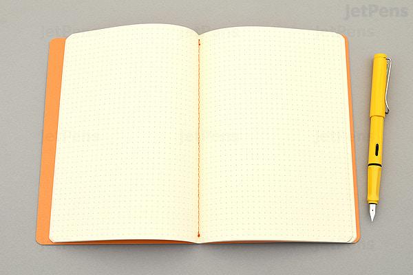 rhodia rhodiarama sewn spine notebook dot grid a5 purple