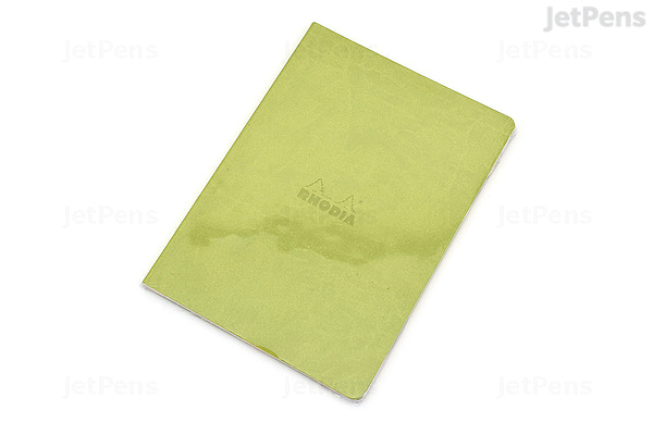 rhodia rhodiarama sewn spine notebook dot grid a5 anise