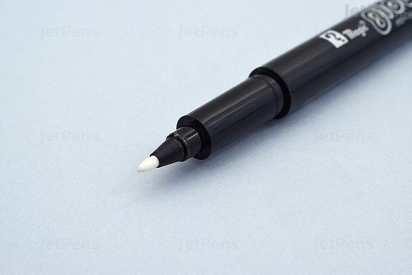 Jetpens Com Teranishi Magic Glow Slim Black Note Marker White