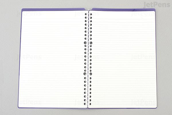 kokuyo campus smart ring binder notebook b5 26 rings light