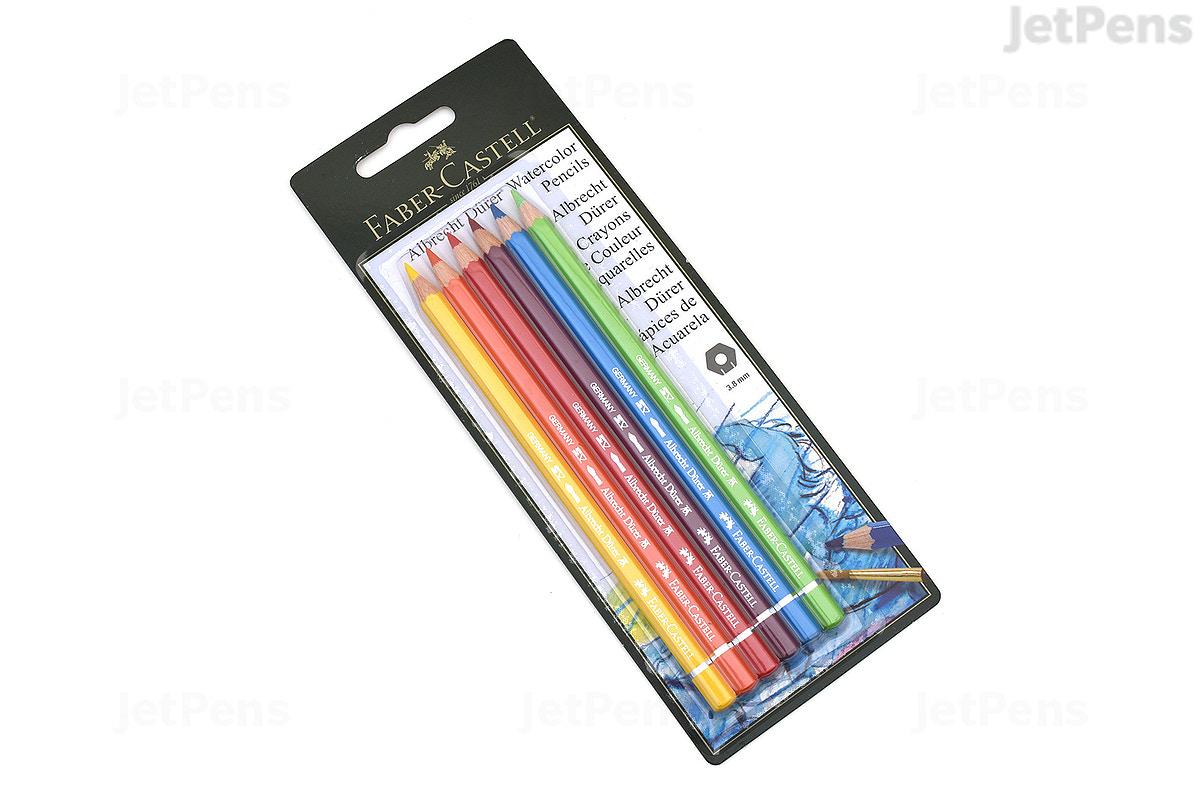 jetpens com faber castell albrecht durer watercolor pencil 6 color set