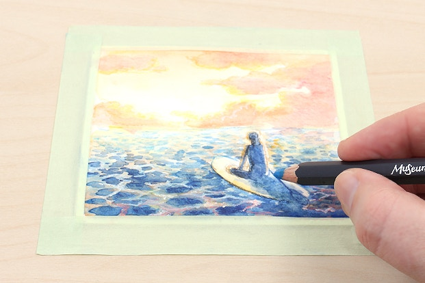 How to Use Watercolor Pencils | JetPens