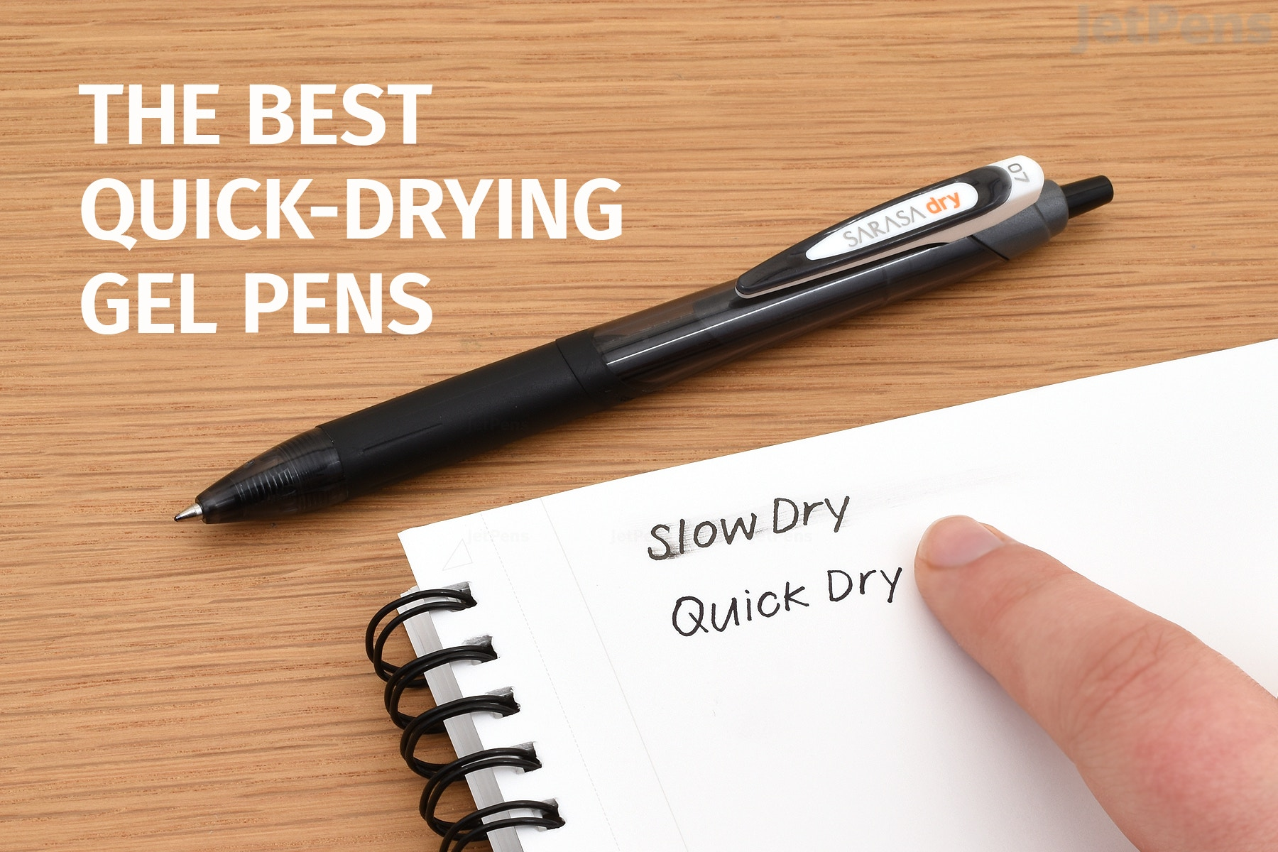 The Best Quick-Drying Gel Pens, 2019 Review | JetPens