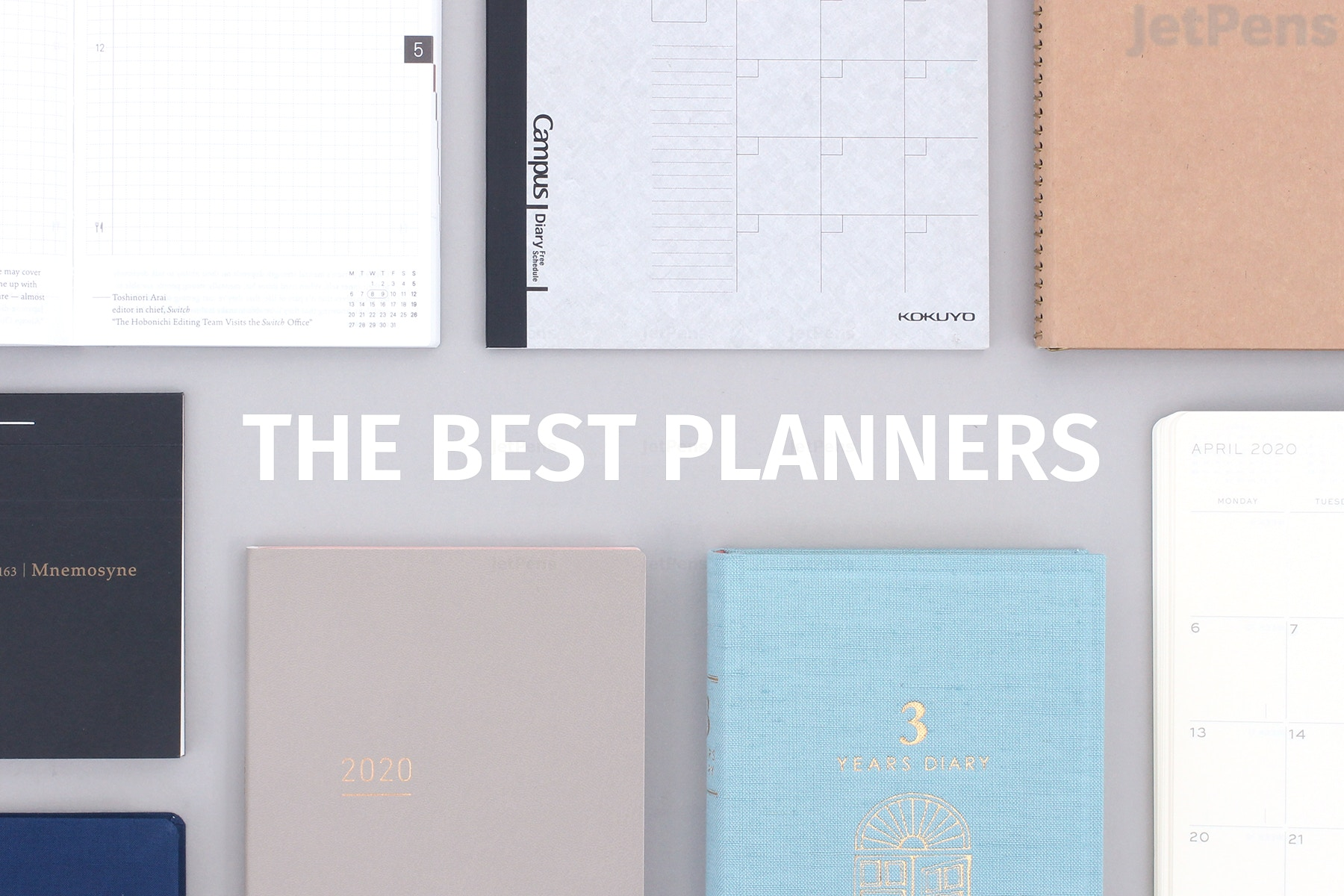 The Best Planners For 2020 Jetpens