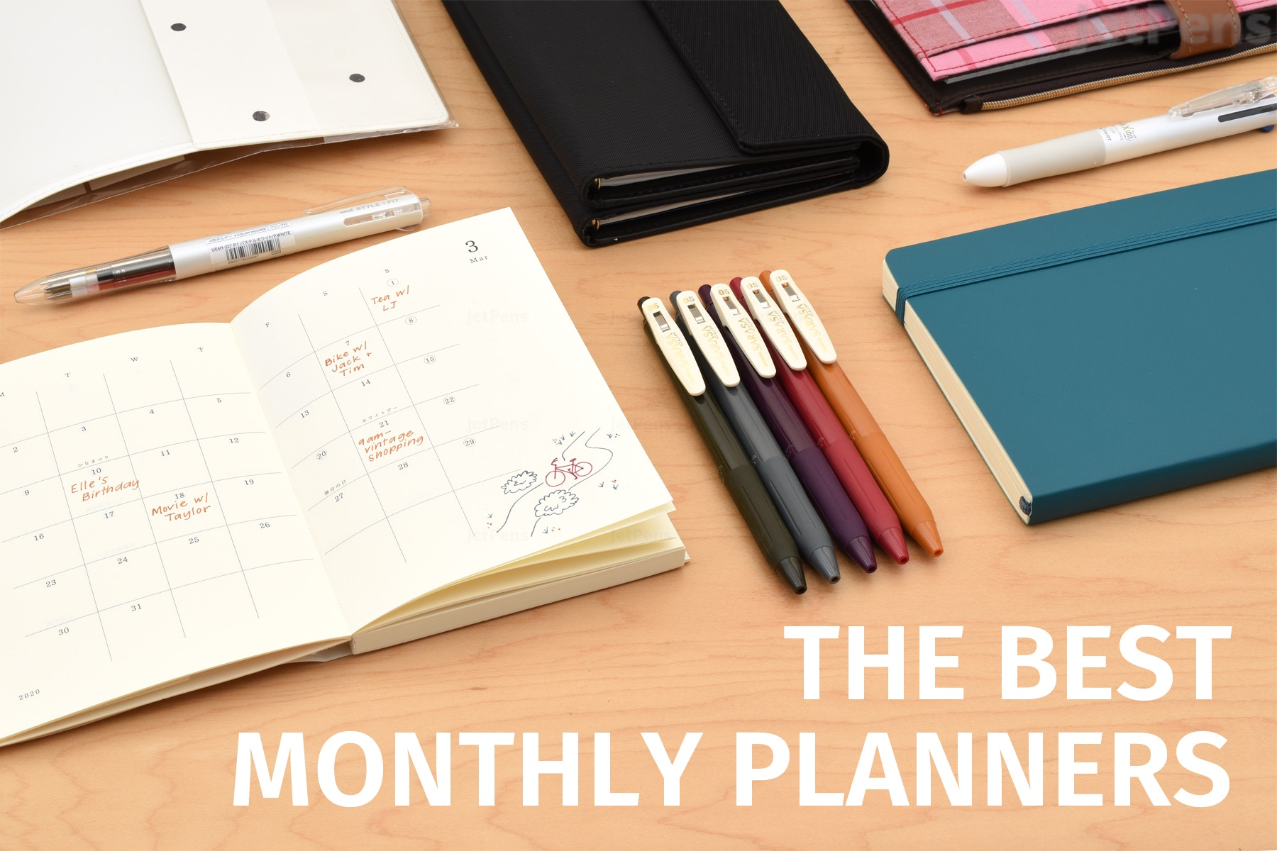 The Best Monthly Planners For 2020 Jetpens