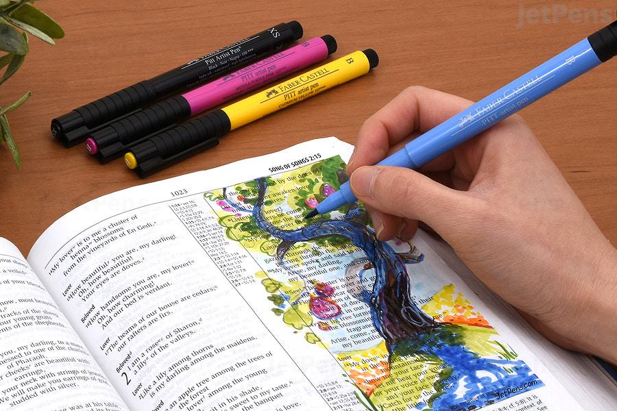 fabercastell pitt artist pens a comprehensive guide